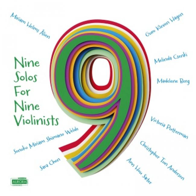 """Nine Solos for Nine Violinists"""